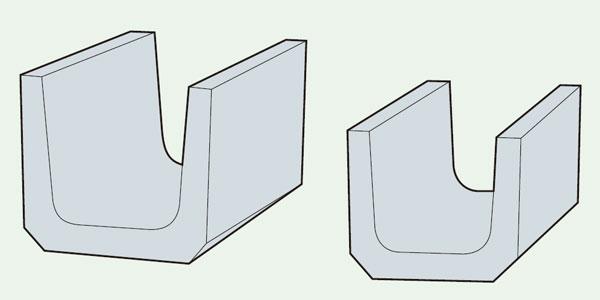 鉄筋コンクリートU型