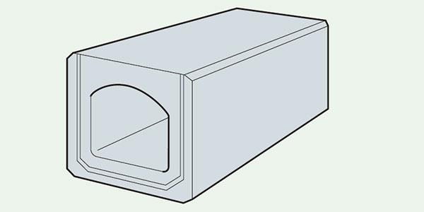 ボックス型暗渠ブロック