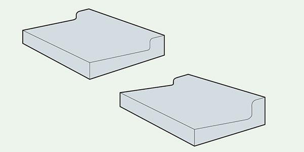 コンクリートL型<