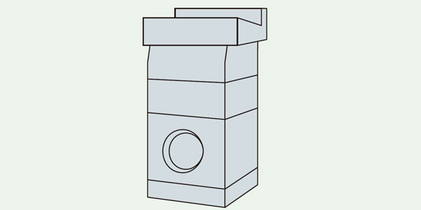 雨水桝 (角型)